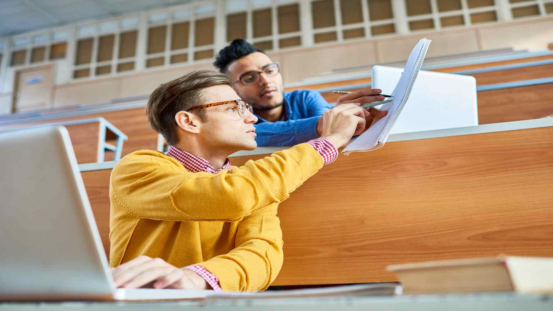 סטודנט זקוק לעזרה בסמינריון